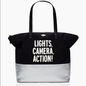 """NWOT Kate Spade """"Call to Action"""" Terry Tote"""